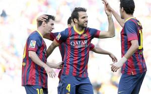 Cesc Fabregas can leave for £30m, Barcelona tell Arsenal, Manchester ...