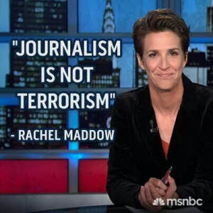 Rachel Maddow quote.