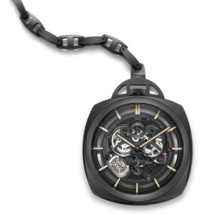 The Watch Quote: Photo - Panerai Pocket Watch Tourbillon Squelette GMT ...