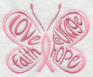 Love Faith Hope Courage Pink Breast Cancer by RockyMountainstitch, $3 ...