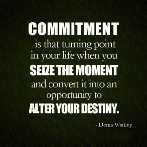 ... an opportunity to alter your destiny.