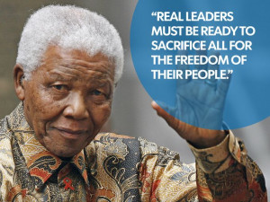 Adieu, Nelson Mandela; the Great Madiba!