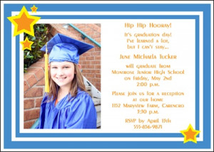 Voted Best of 8th Grade - Middle School - Jr High Graduation ...