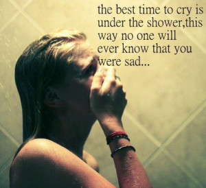 Best Time To Cry Depression Overcoming Depression Quotes