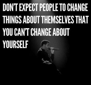 Quote on change drake