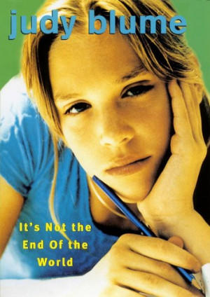 Book Review: It's Not the End of the World by Judy Blume