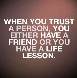 Smart, quotes, sayings, trust, person, life, lesson