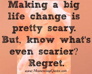 You have to take chances if you think its the right thing to do.