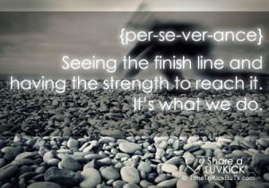 Finish Line quote #2