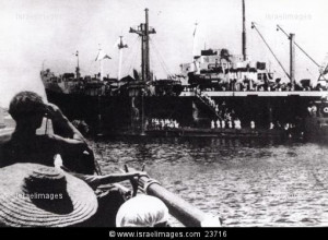 Holocaust refugees deported to Cyprus by British mandate during