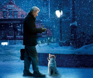 Richard Gere in 2009 Hachi. A Dog's Tale, as Parker Wilson