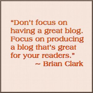 brian-clark-quote #blogging