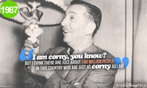 walt disney, quotes, sayings, i am corny