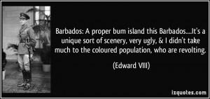 Barbados: A proper bum island this Barbados....It's a unique sort of ...
