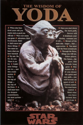 Yoda Quotes Poster