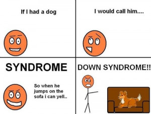dog, down, down syndrome, funny, lol, smart