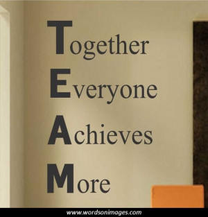 Motivational Teamwork Quotes Inspirational