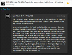 Eminem Rap God Quotes Some truth about