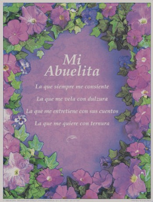I Love You Grandma Quotes In Spanish : quotesgram com grandmother quotes in spanish quotesgram 300x397 jpeg ...