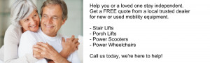 services get fast reliable and free mobility product quotes from