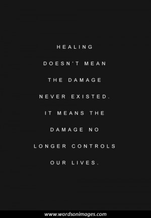 Inspirational quotes healing