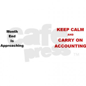 Accounting Month End Funny