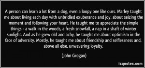 marley and me dog quotes