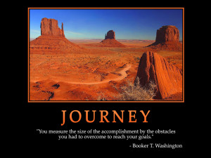 Motivational Wallpaper on journey