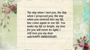 Related to : 10th Wedding Anniversary Quotes For Husband From Wife