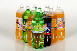 pvc soft drink label