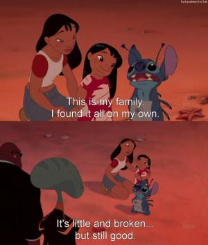 Lilo and Stitch quotes. ;__; - Asianfanfics.com