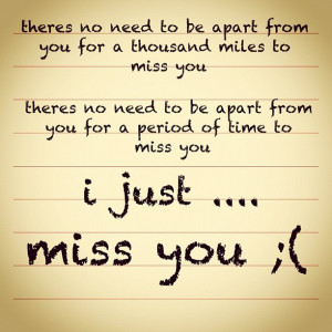 miss you quotes i miss you more than words