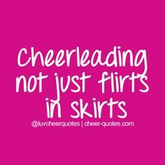 Cheerleading not just flirts in skirts #cheer #cheerleader # ...
