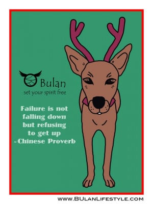 Brownie the dog. Positive quotes