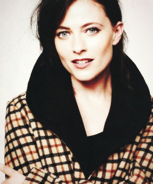 Lara Pulver. Everybody on sherlock must have amazing cheekbones or ...
