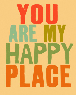 Where is your happy place?