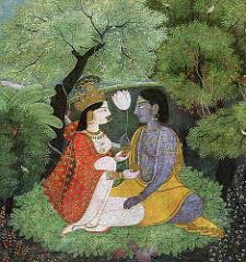 Radha-Krishna (Yadupati) Tags: radhakrishna kangra mirabai