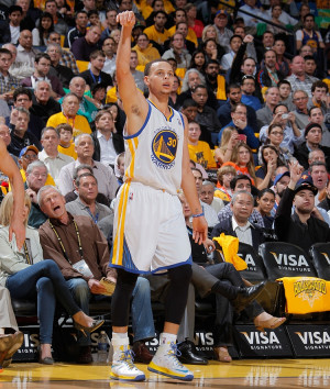 stephen curry wearing nike id lebron x's 10's, steph, golden state ...