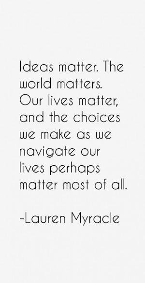Lauren Myracle Quotes & Sayings