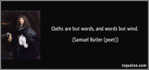 Oaths Quotes