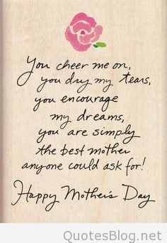 Quotes and messages for mother's days