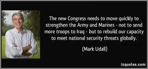 More Mark Udall Quotes