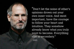 Steve Jobs Inspirational Quotes on Life