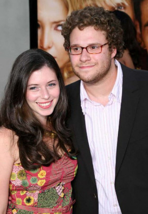 Lauren Miller and Seth Rogen photo at the premiere of You Me and ...