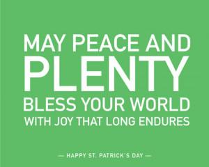 Irish Blessings: Free Art Download