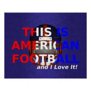 Football Sayings Posters