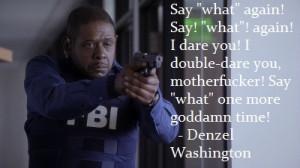 Samuel L Jackson interviewer's favorite film quote