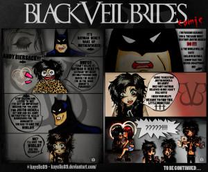 Funny Black Veil Brides Comics