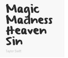 Blank Space Lyrics ~ Taylor Swift #1989