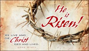 He is Risen! - Ecard